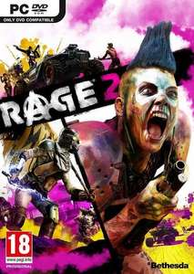 RAGE 2 PC Bethesda Launcher CD Keys