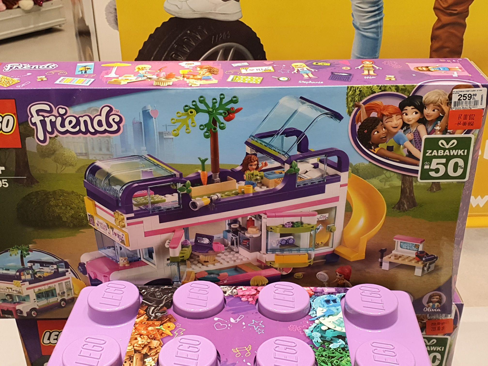 LEGO Friends Autobus Przyjaźni 41395 w Smyku
