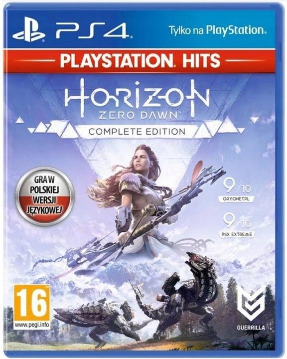 HORIZON ZERO DAWN COMPLETE EDITION PS4 PL + GRATIS