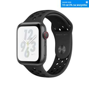 Apple Watch 4 GPS+LTE 44 mm gwiezdna szarość