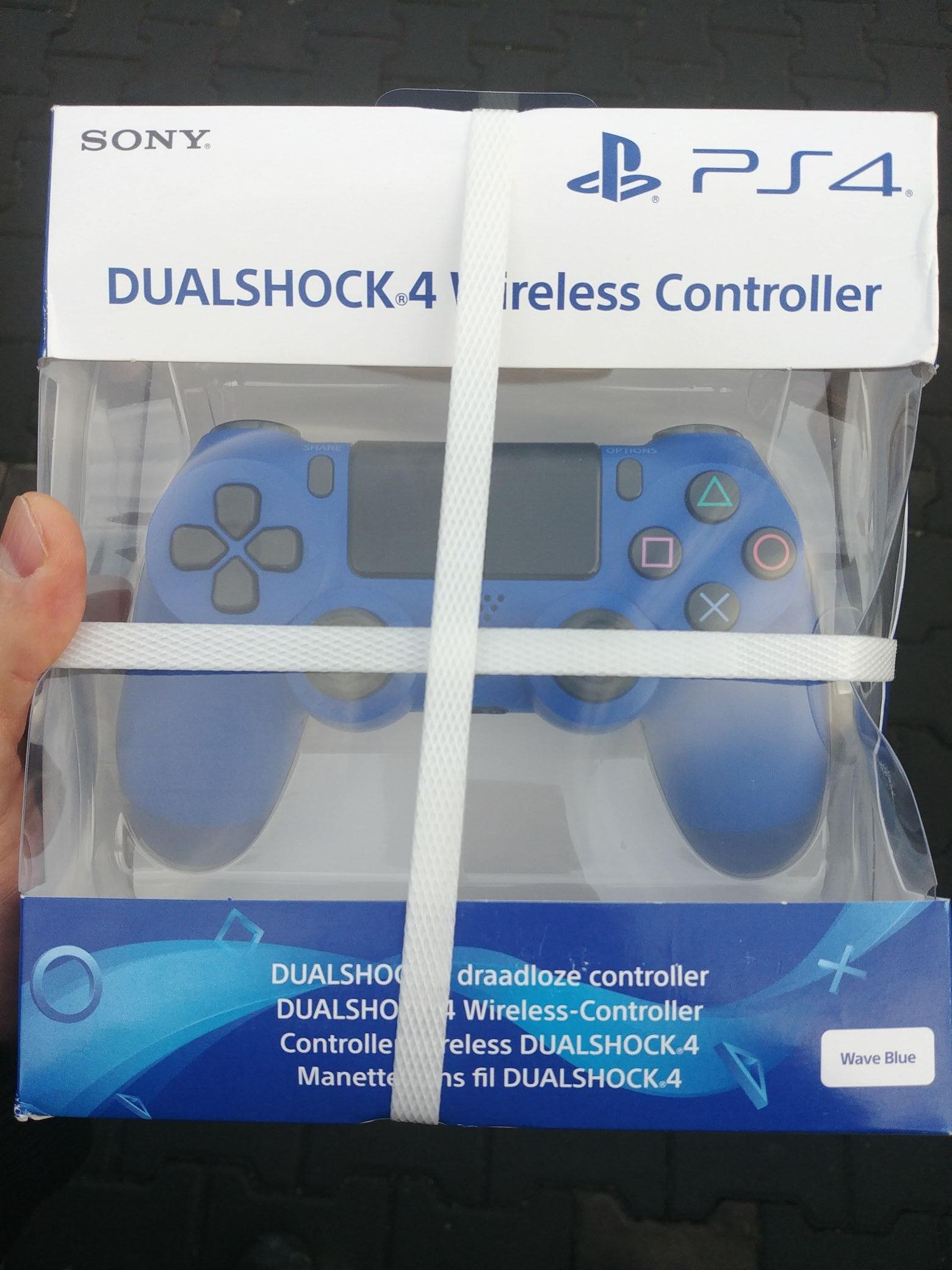 Dualshock 4 V2 CUH-ZCT2E (niebieski/biały/czarny)