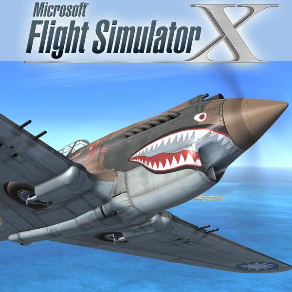 Darmowy dodatek do Microsoft Flight Simulator X | Accu-sim P-40 (FSX)