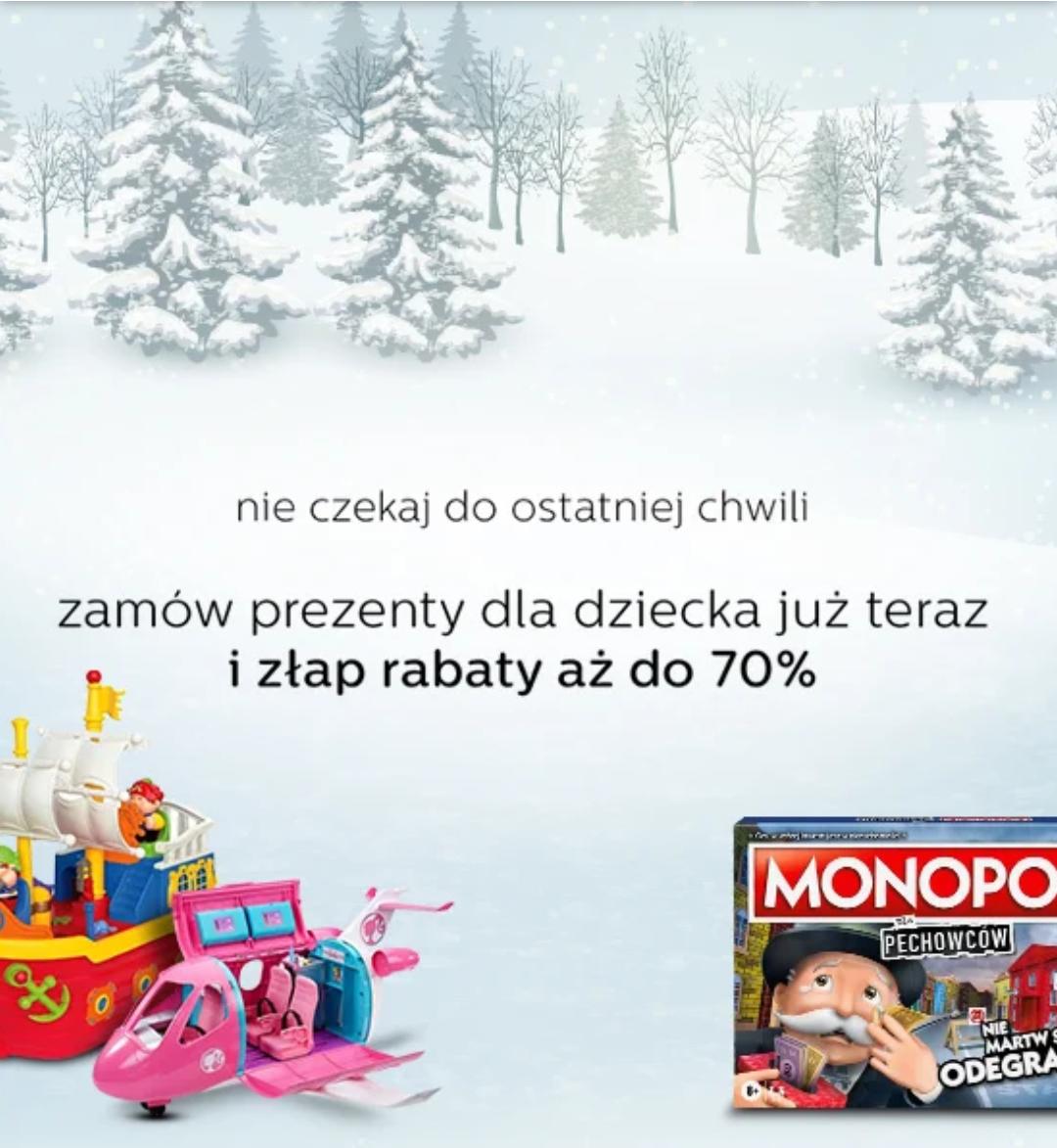 Al.to - grudniowa wyprzedaż zabawek do -70%