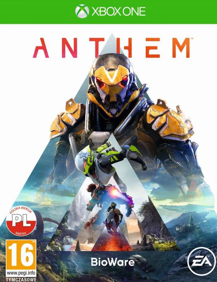 Anthem Xbox One BOX