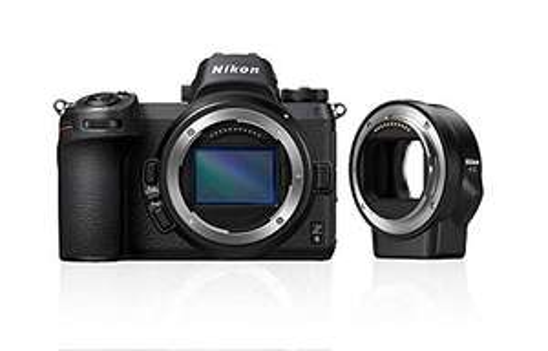 Nikon Z6 + adapter FTZ + 64 GB XQD