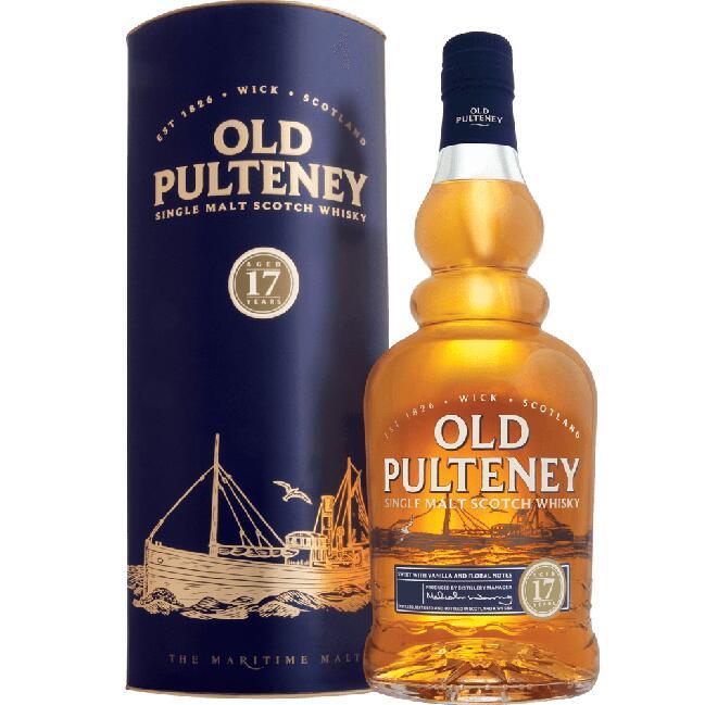 Whisky Old Pulteney 17YO 46% 0.7 l Kukunawa