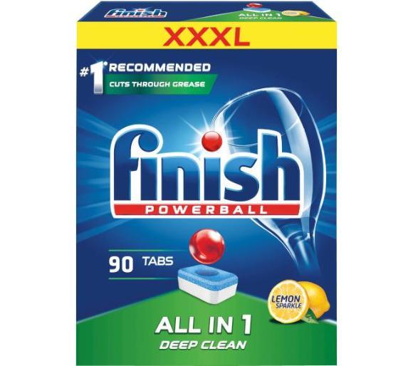 Tabletki do zmywarki Finish All in 1 Cytrynka 90szt., odbiór w sklepie 0zł