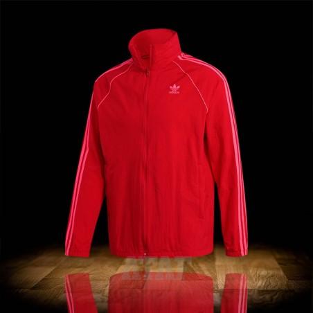 adidas SST Windbreaker Jacket Scarlet