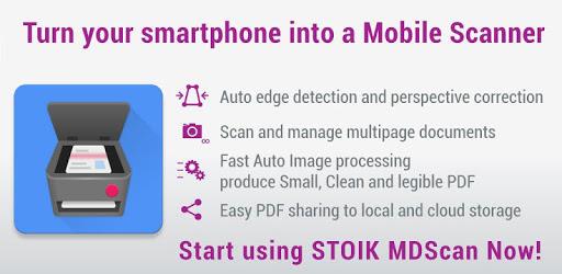 MDScan, czyli mobilny skaner dokumentów dla Androida, jest jednym z najlepszych, jakie znalazłem.