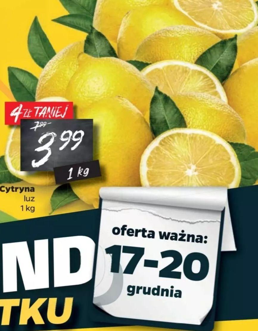 Cytryna luzem 3,99 zł/kg Netto