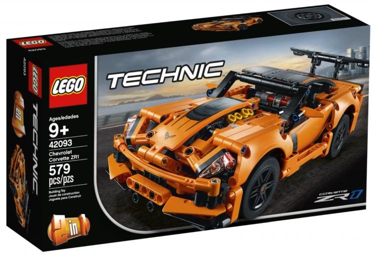 Lego Technic Chevrolet Corvette 42093 - Smyk