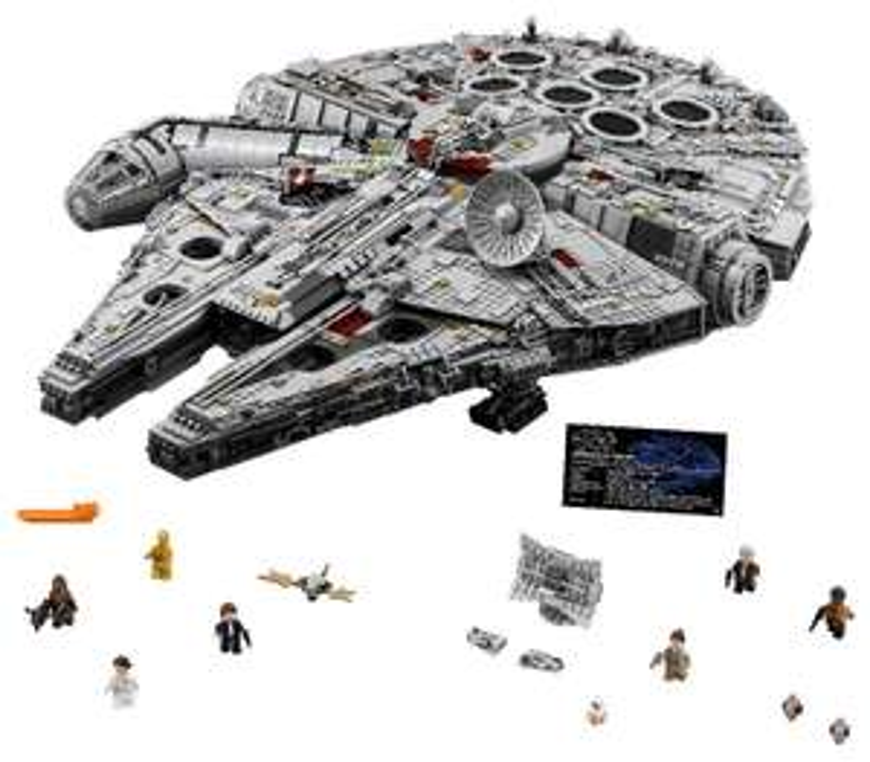 LEGO Star Wars, klocki Millennium Falcon, 75192