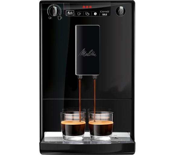 Ekspres do kawy Melitta Caffeo Solo Pure Black E950-222 EU za 999zł @ RTV Euro AGD