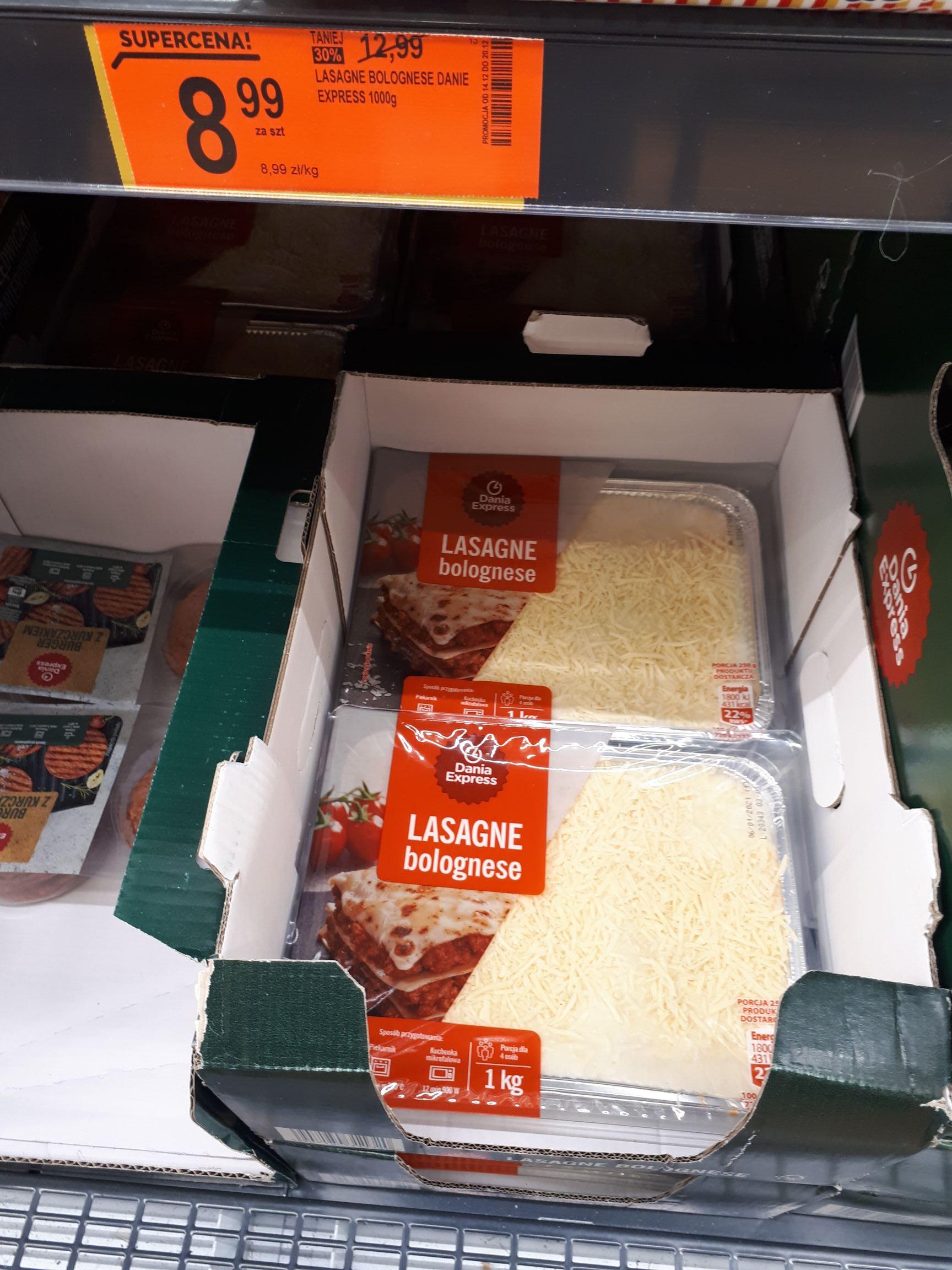 Lasagne Bolognese 1000g