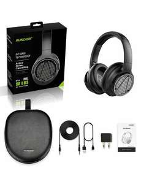 AUSDOM® BASS ONE słuchawki bezprzewodowe z redukcją szumów, 50h @Aliexpress