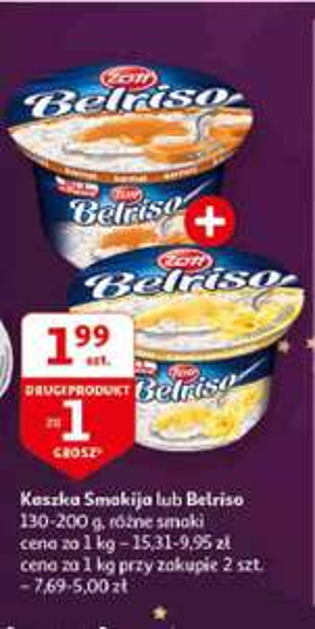 Belriso za 1.99 szt + drugi za 1 grosz (Auchan)