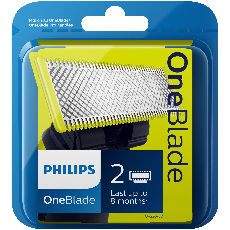 Wymienne ostrza do Philips OneBlade (2 sztuki)