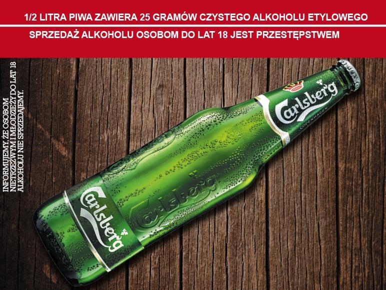 Piwo Carlsberg duża butla 660ml za 2,22zł po raz kolejny @Lidl