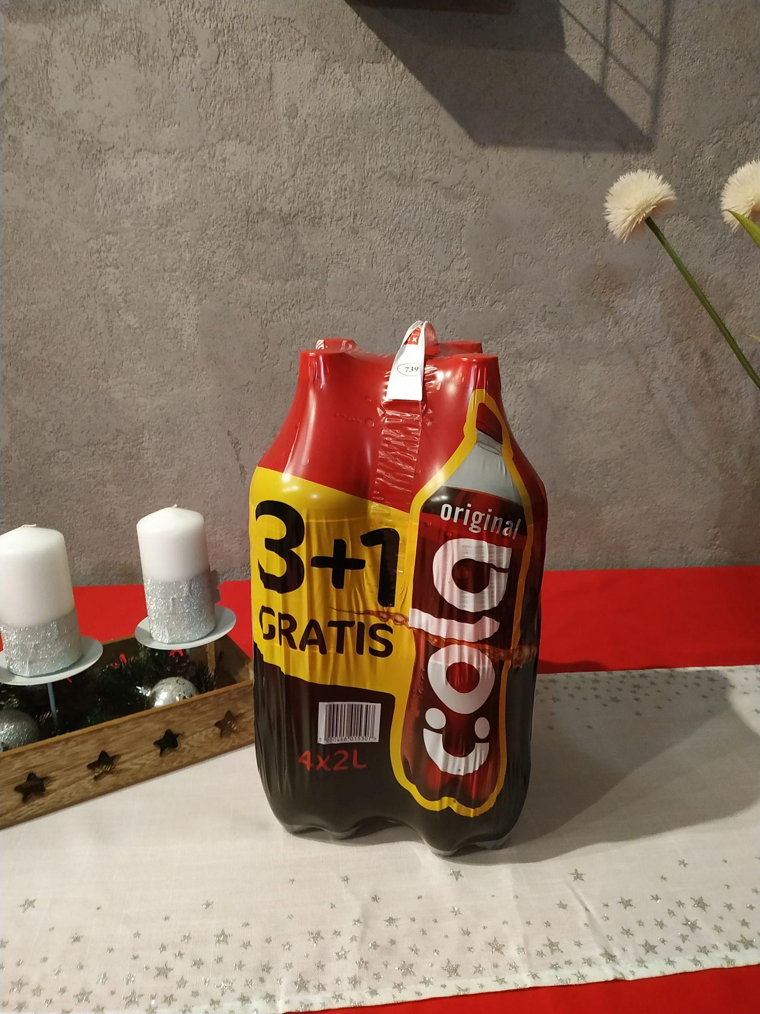 Cola Original Biedronka 4x2L