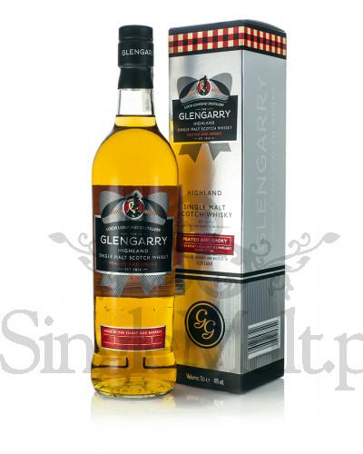 Whisky Glengarry Single Malt Peated and SMOKY 40% 0,7 L z SingleMalt.pl