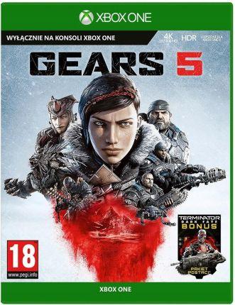 Xbox One Gears of War 5 Polska wersja językowa