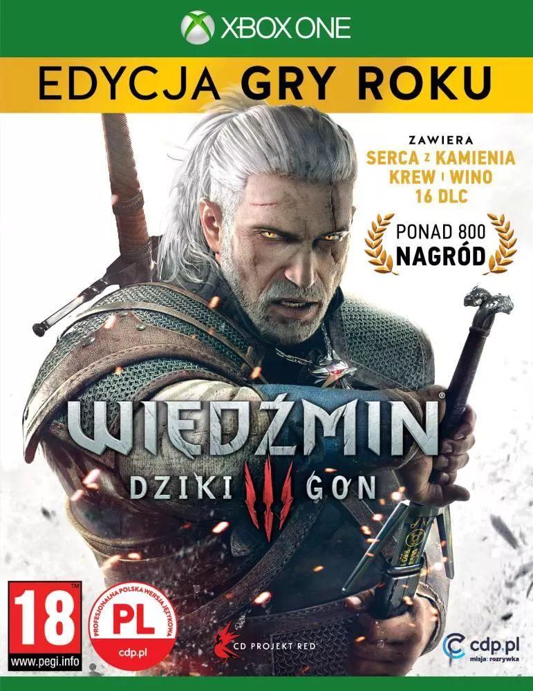 Wiedźmin GOTY + steelbook Xbox One