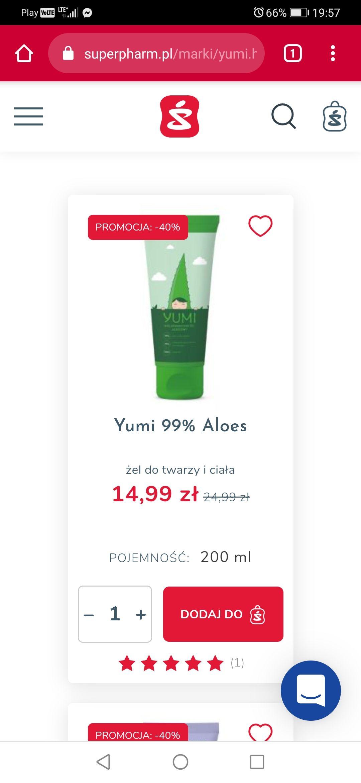 Kosmetyki yumi -40% w superpharm