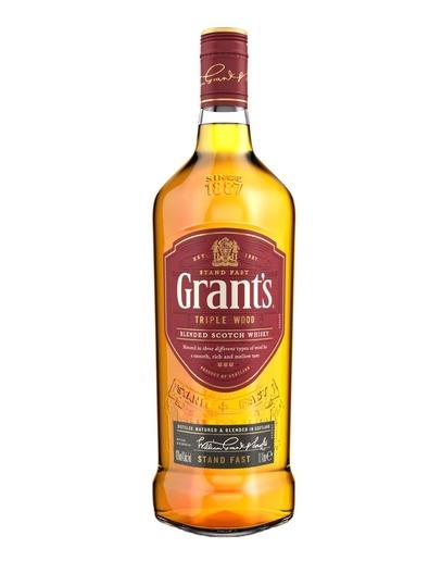Whisky Grant's Triple Wood 40% 1L Barek Kaufland