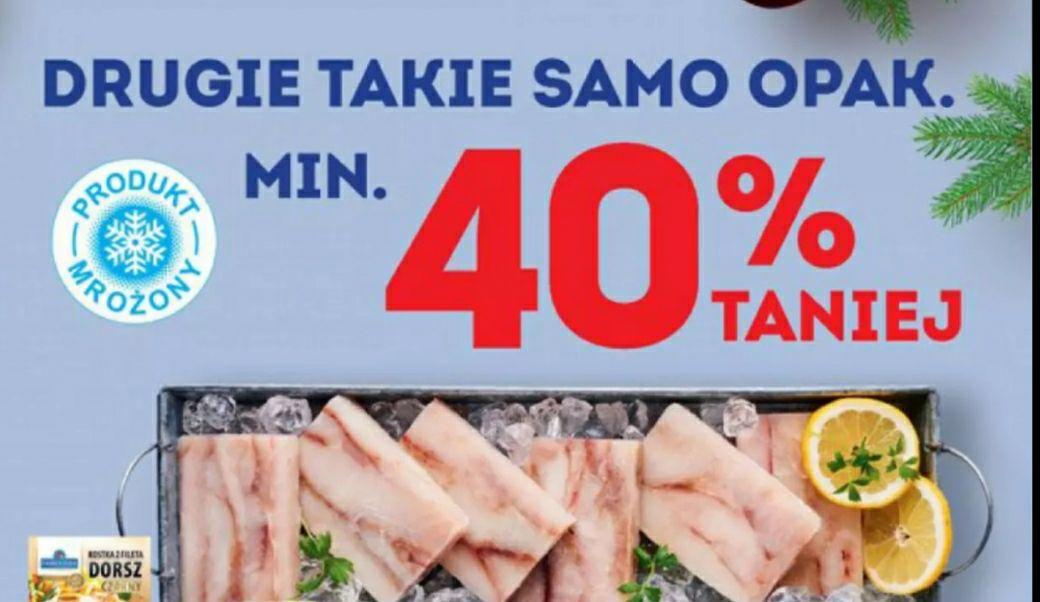 Ryby drugie opakowanie 40% taniej -Zbiorcza