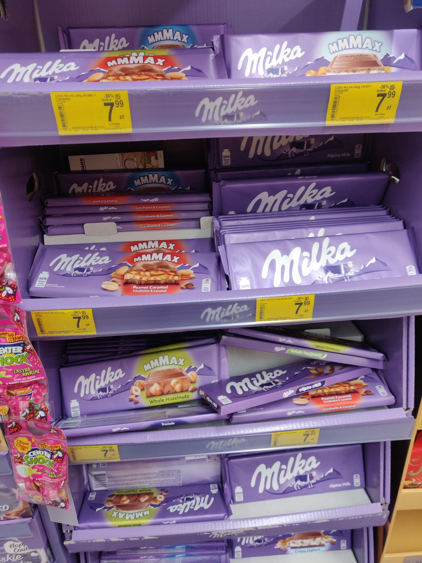Duża Milka Carrefour