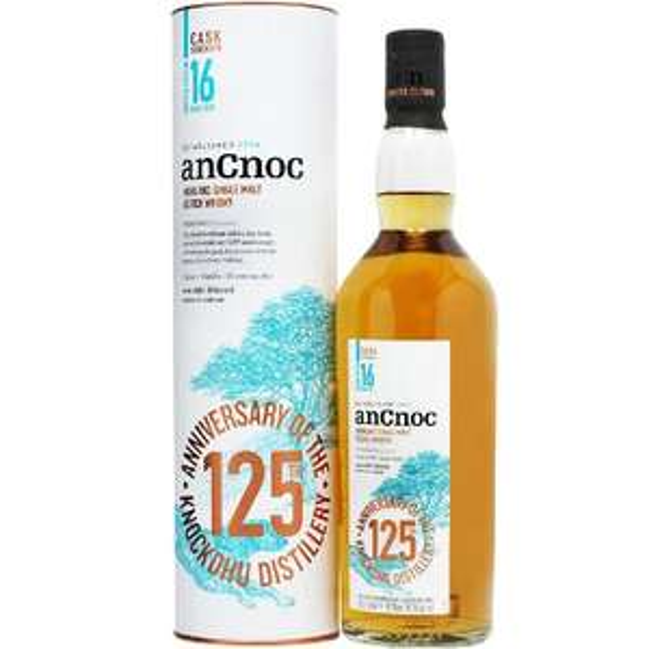 Whisky AN CNOC 16Y 125 ANNIVERSARY 56,3% 0,7L na kukunawa.pl