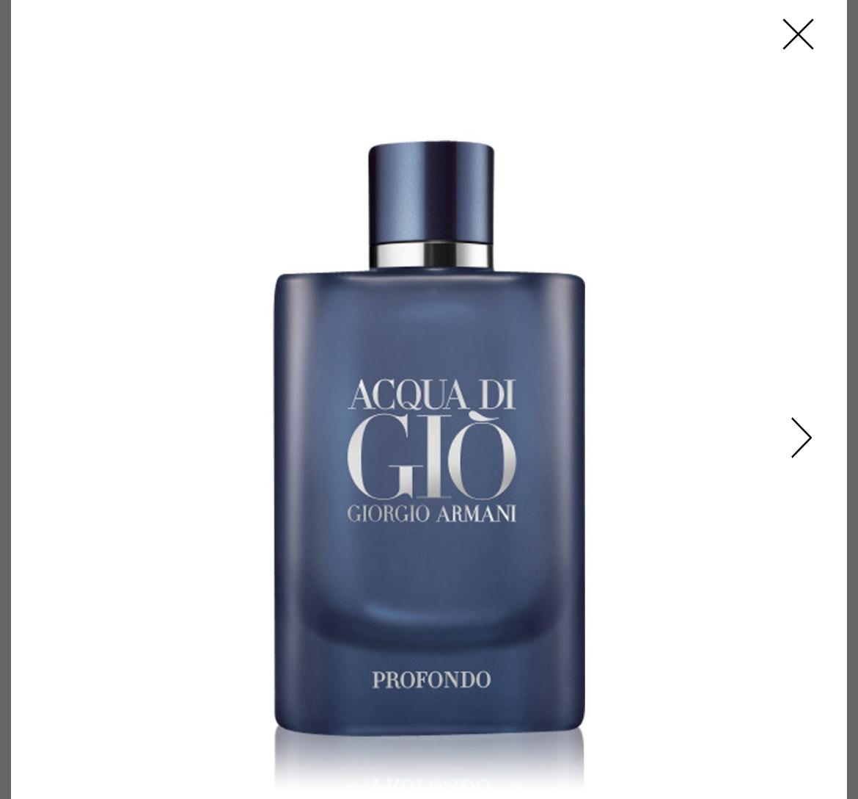 Woda perfumowana Giorgio Armani dla mężczyzn Acqua di Giò Homme Profondo 125 ml