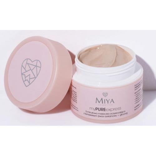 5-minutowa maseczka oczyszczająca (i nie tylko) - promocja na Miya Cosmetics w Rossmannie