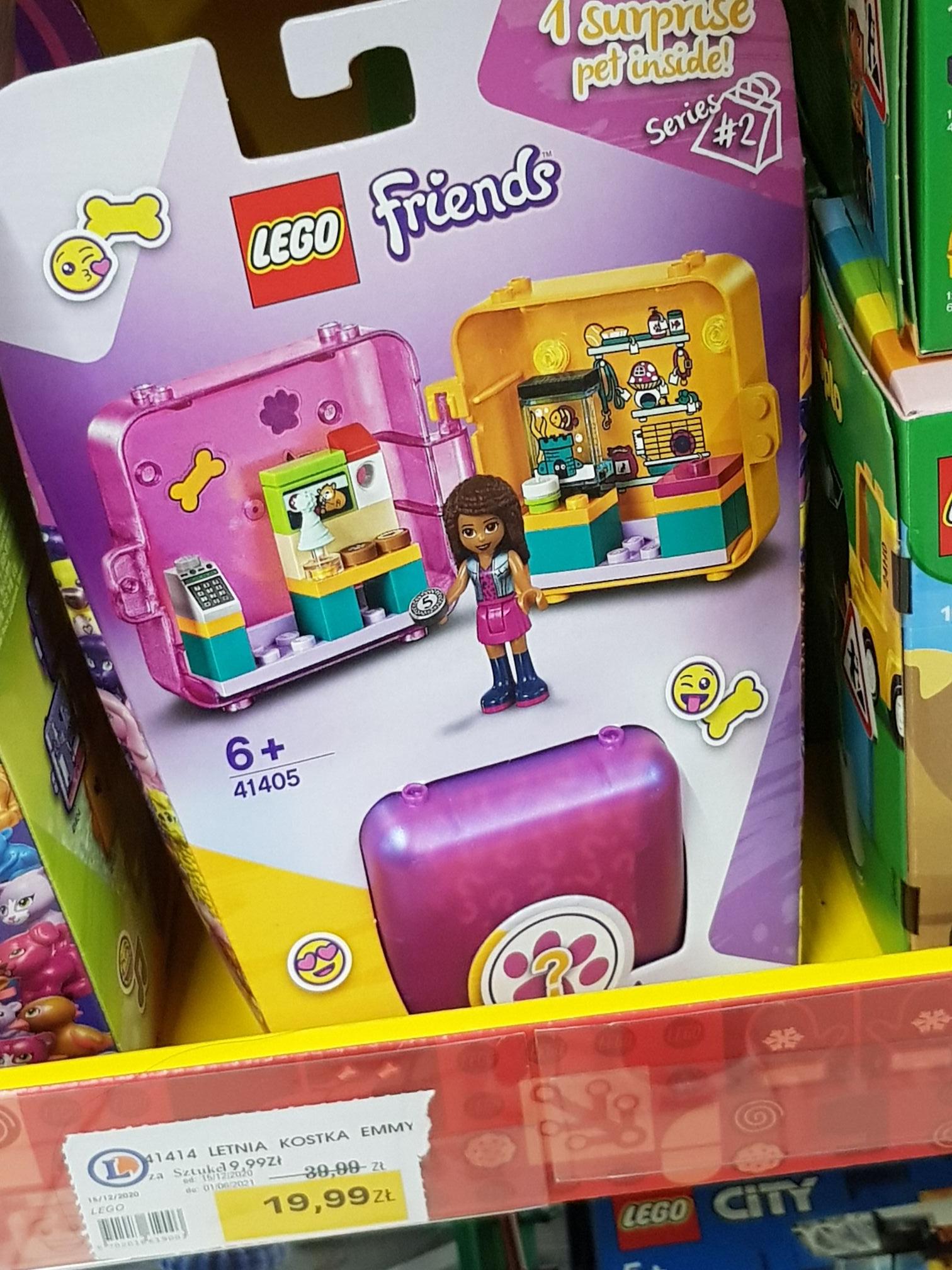 LECLERC -Lego friends pudelko przyjazni
