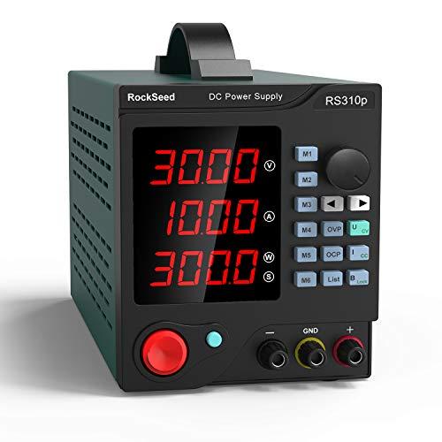 Zasilacz laboratoryjny HM310P DC 0-30 V / DC 0-10 A 300W (Niemiecki amazon, 63,09 euro, cena z vat i dostawą)