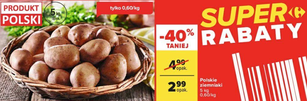 Ziemniaki 2,99zł/5kg (0,60zł/kg) Carrefour