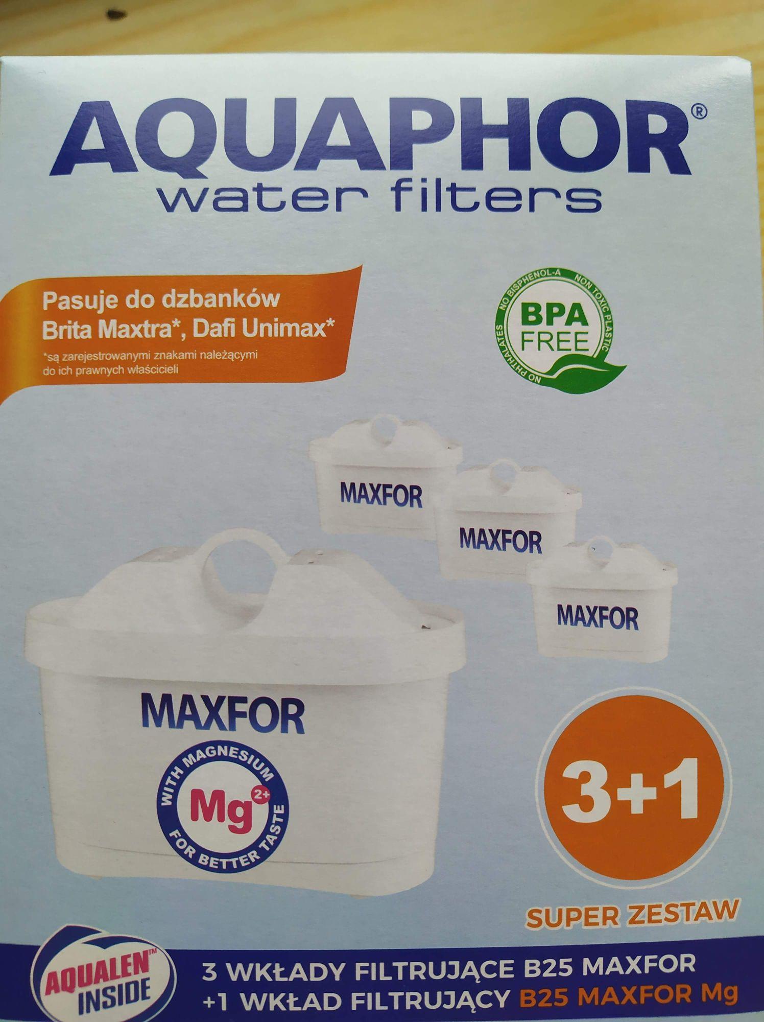 Biedronka - 8 filtrów Aquaphor Maxfor B25