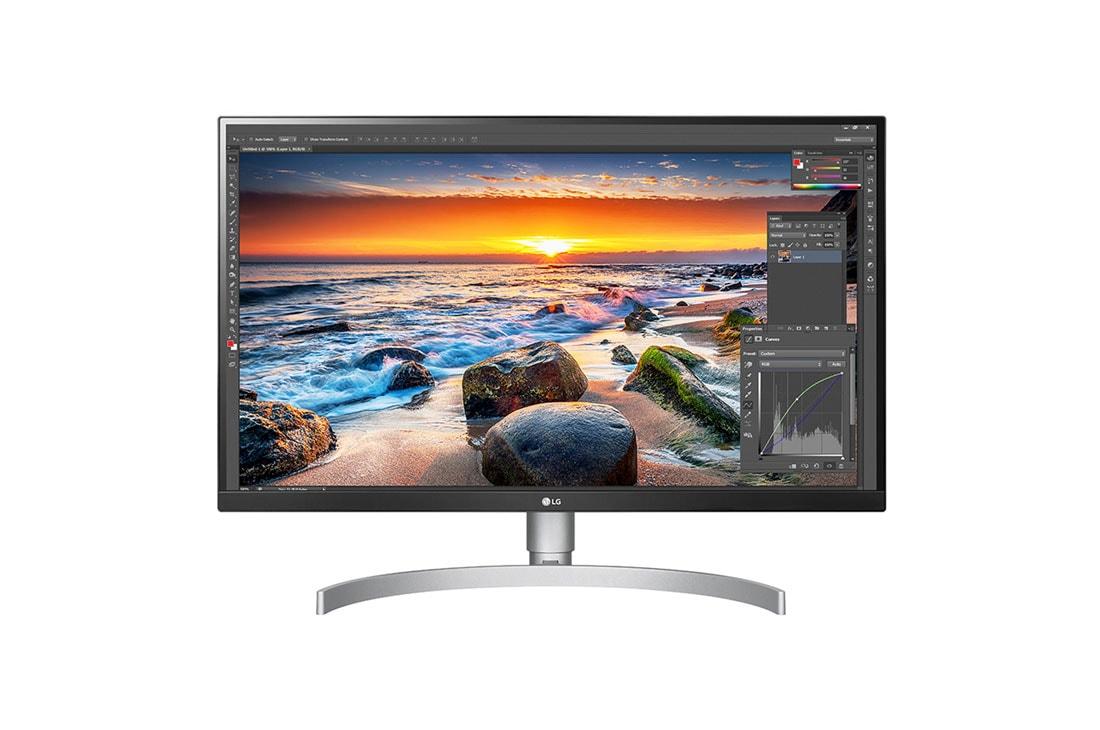 "LG 27UL850-W 27"" monitor 4K z HDR"