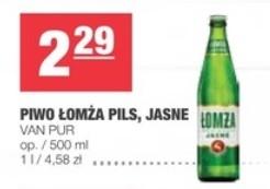 Piwo Łomża Pils, Jasne, Van Pur 0,5L