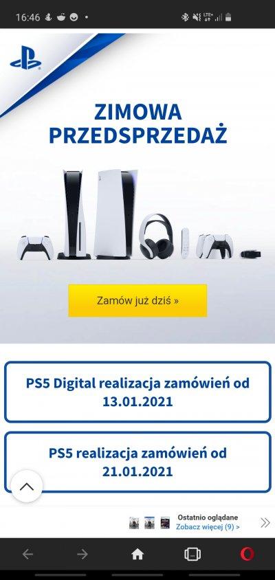 Playstation 5 - jutro do zamówienia w Media Expert - przedsprzedaż, wysyłka od 13.01 (Digital), 21.01 (z napędem)