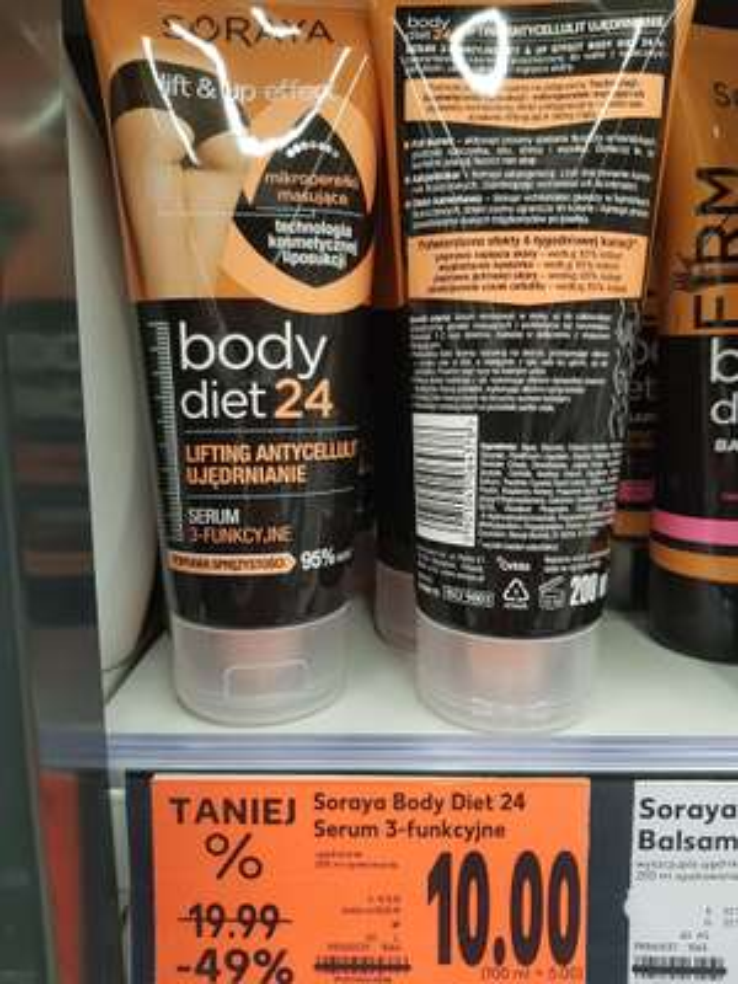 Obniżka serum 3funkcyjne SORAYA BodyDiet 24