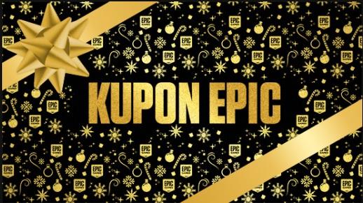 Kupon Epic 40 zł za odebranie dowolnej darmowej gry do 31.12