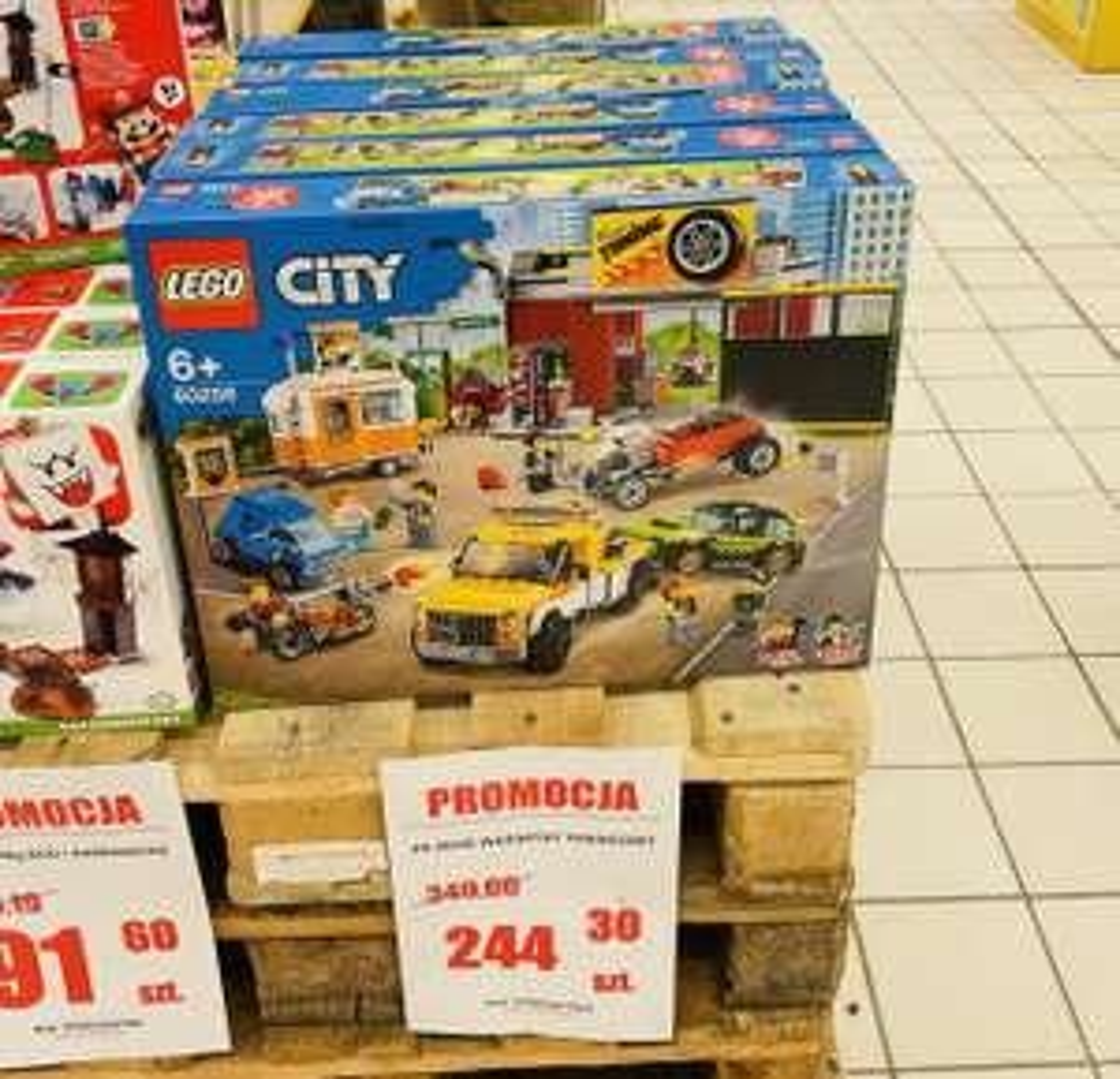 Lego Warsztat tuningowy 60258