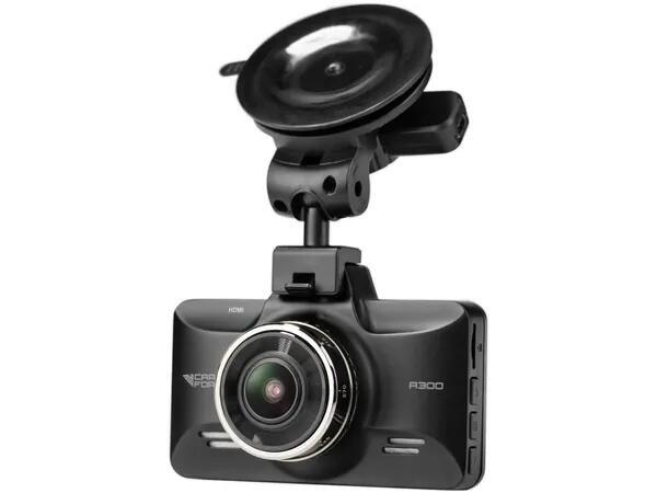 Kamera samochodowa CARFORCE A300 ( full HD, kadr 150 stopni, redukcja drgań, czujnik ruchu i przeciążenia, -20 ~ 70 )