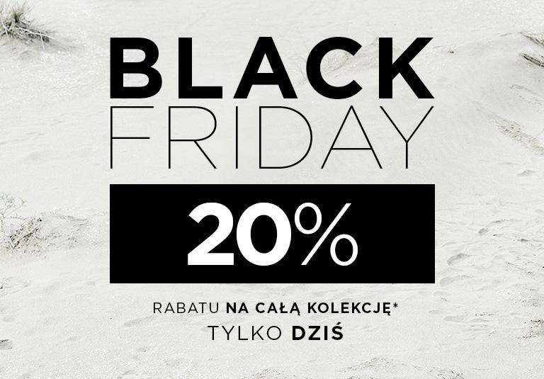 (Black Friday) 20% rabatu na cały asortyment @ Stradivarius