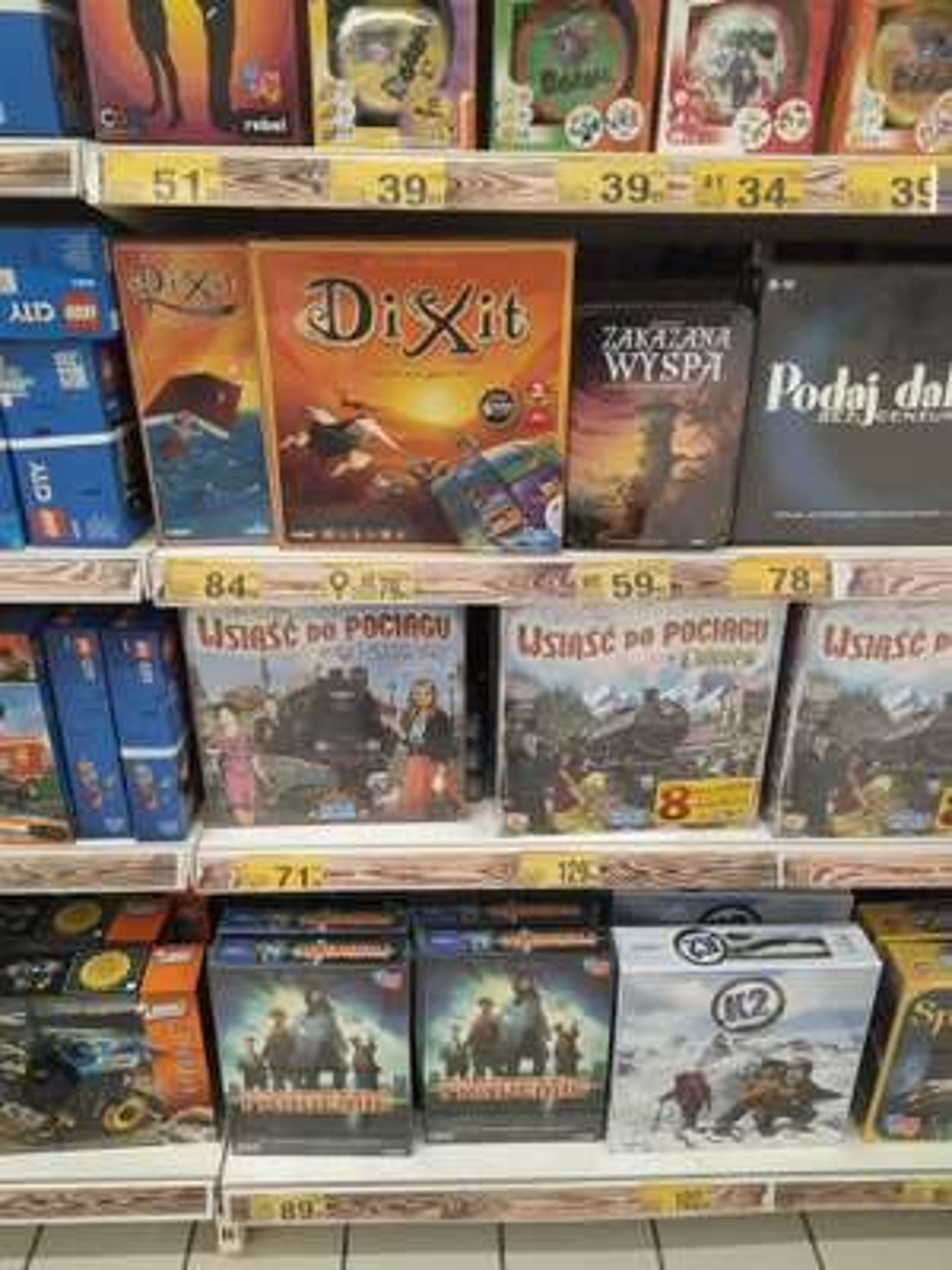 Gra planszowa pandemic i inne Auchan Sosnowiec