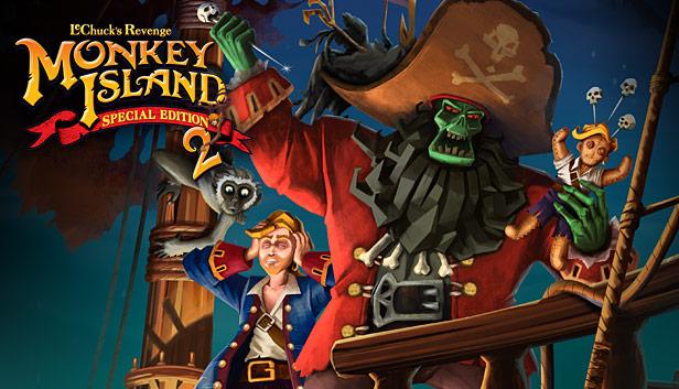 Gry z serii Monkey Island i Secret Neighbor @ Steam