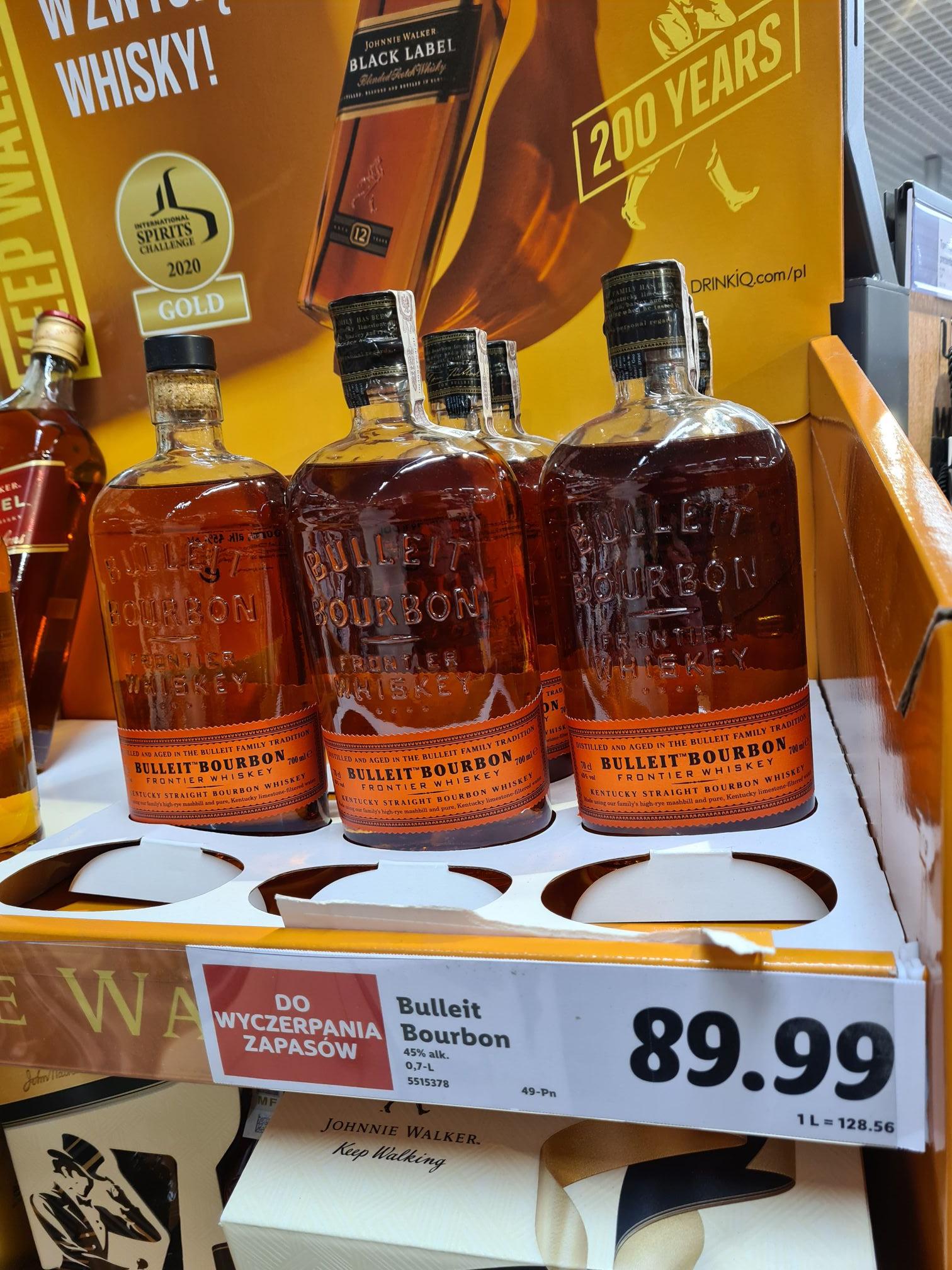 Bulleit Bourbon Szczecin Lidl do wyczerpania zapasów