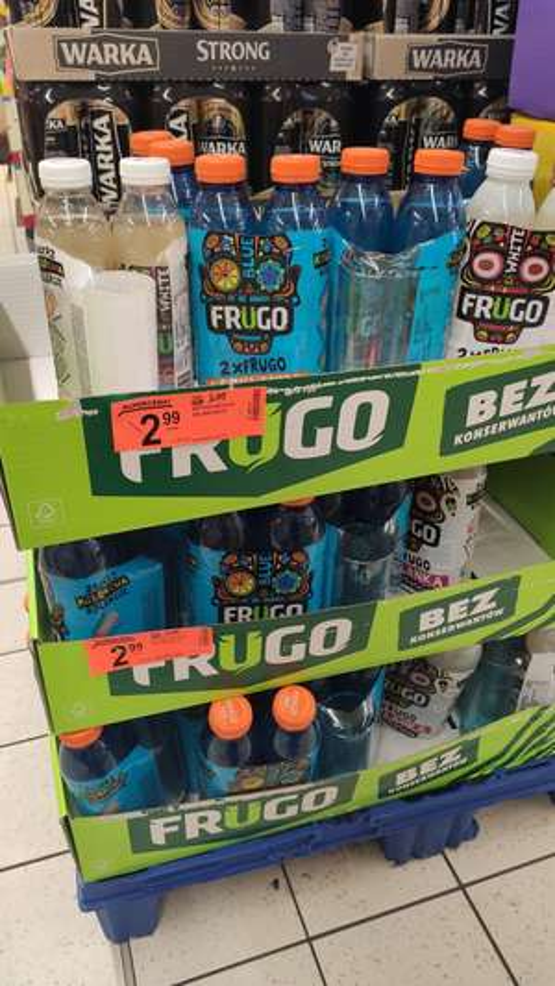 2x FRUGO plus szklanka w prezencie (Biedronka)
