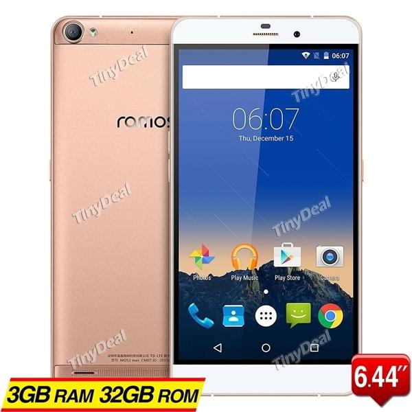 Telefon Ramos Max 3/32GB 6,44'' 6010mAH - 510 zł